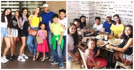 Happy family sila! Sunshine Cruz shares how her daughters love to bond with Macky Mathay's children