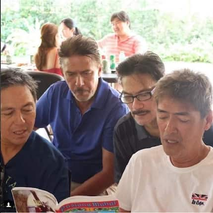 "Vic Sotto and brothers reunion in Holy Week and chant ""Pabasa"""