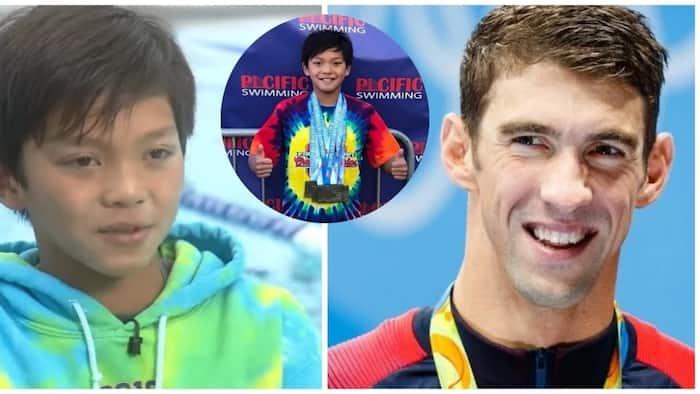 10-year-old Fil-Am, winasak ang 23-year-old record ni Olympian champion Michael Phelps!