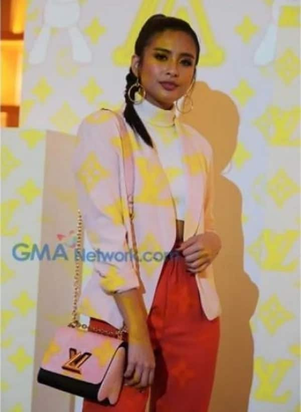 Celebs who favor the LV brand reveal themselves during launch