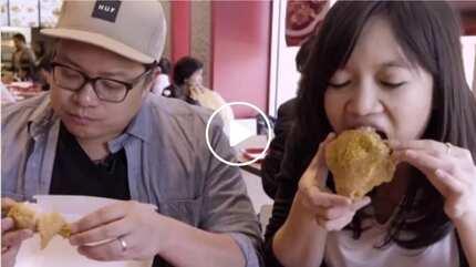 Pinoy soul food buddies go crazy over newly opened Jollibee overseas