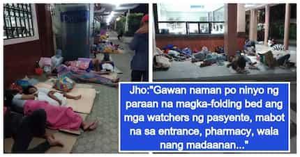 OFW, isiniwalat ang kalunos lunos daw na kalagayan ng mga tao sa Davao Regional Hospital