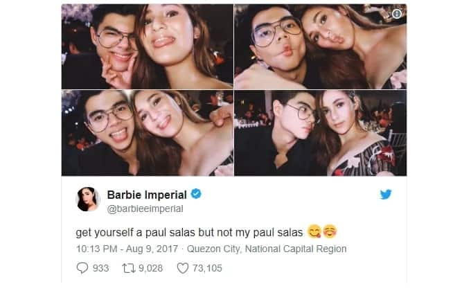 Nakakapikon talaga! Former PBB Housemate Barbie Imperial irked by a netizen's tweet saying Paul Salas should have died instead