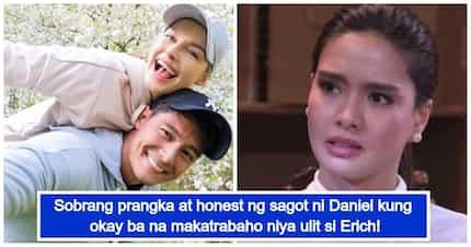 Daniel Matsunaga, sinagot ang tanong kung open ba siyang makatrabaho ulit ang ex-girlfriend na si Erich Gonzales
