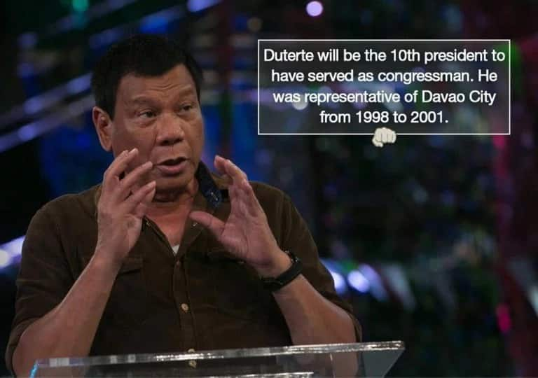 16 things you need to know about the 16th President of the Philippines