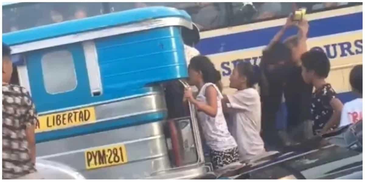 Ilan sa mga batang nanakit at nanguha ng pagkain sa pasahero ng jeep, itu-turn over na sa DSWD