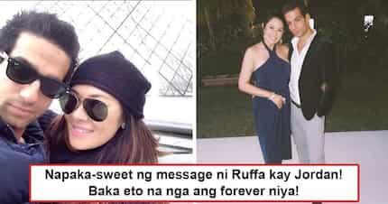 Eto na nga siguro ang forever niya! Ruffa Gutierrez's sweet message to French-Israeli boyfriend may hint at actress finally finding guy worthy of her