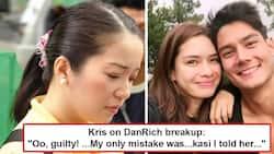 OMG, may kinalaman pala siya! Kris Aquino finally reveals why she feels 'guilty' about Erich Gonzales and Daniel Matsunaga's breakup