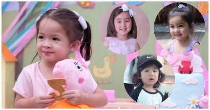 Grabeh sobrang cute! Top 4 sa mga sikat at napakacute na celebrity babies sa showbiz