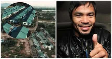Nagviral agad ang video na shinare ni Manny Pacquiao sa libo-libong bahay na ipinamigay