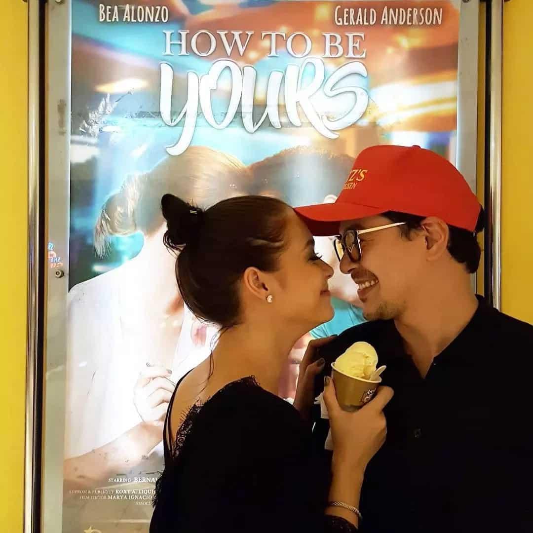 John Lloyd Cruz, Maja Salvador watch 'How To Be Yours'