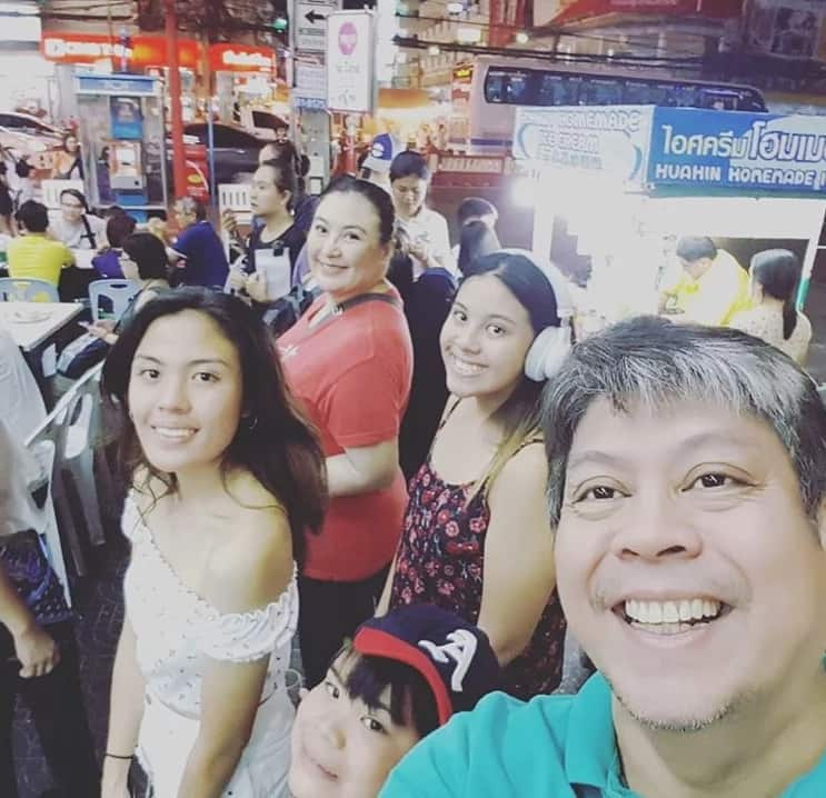 Namalengke ang Megastar! Sharon Cuneta and kids enjoy their market adventure in Thailand