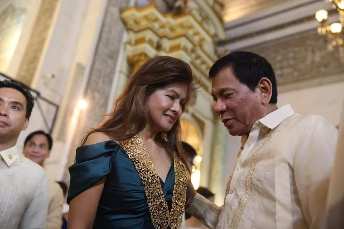 Imee Marcos posts video coverage of state burial of father at LNMB