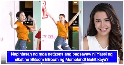 Malaswa raw tingan? Netizens react to Yassi Pressman's viral video of the BBoom BBoom dance challenge