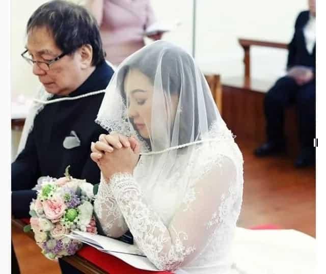 Heartwarming photos of Joey de Leon & Eileen Macapagal's church wedding go viral
