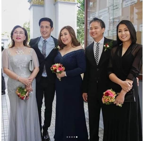 Ibang level talaga sila! Joel Cruz's twins Prince Charles and Princess Charlotte's baptism ceremony