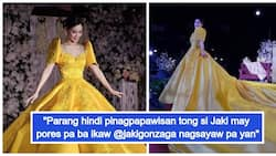 Beauty and the Beks? 'Ate Girl' Jaki Gonzaga stuns netizens with gorgeous yellow gown