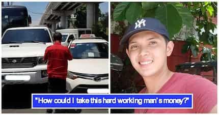 Saludo kami! Hinahangaan ang isang motorista dahil sa kabaitan na ipinakita nito