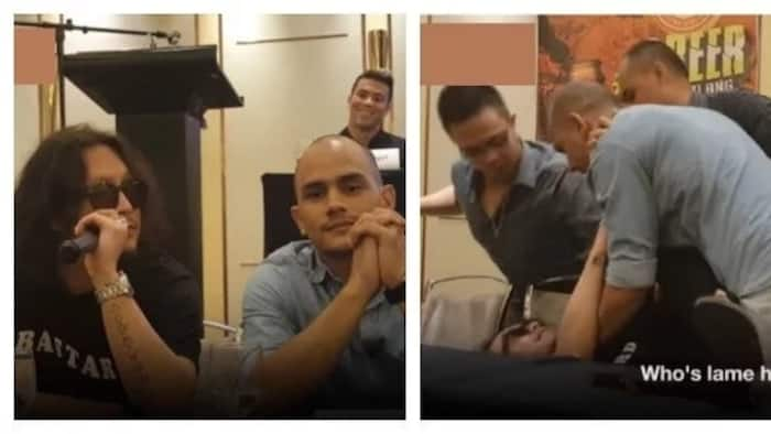 May part 2 nga ba? Kiko Matos gets impatient with Baron Geisler and slams him on a chair after he called him 'lame'
