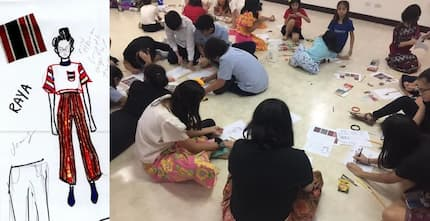 The future #savetheweave! Third culture kids revive Ifugao culture by drawing