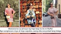 Lahat ng gamit niya pang alta! From sunglasses to slippers, Ruffa Gutierrez's luxurious items come with price tags that only true 'sosyals' can afford