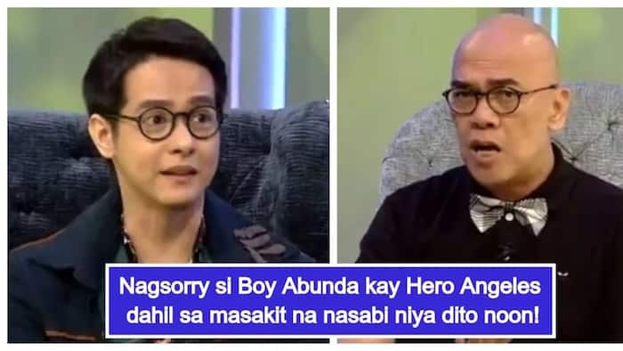 """Boy Abunda says sorry to Hero Angeles for what he did to him many years ago: """"I apologize"""""""