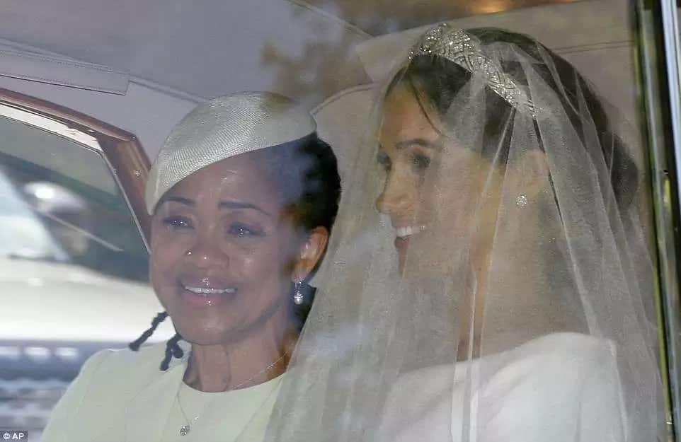Meghan Markle's mother sadly sat alone during the royal wedding