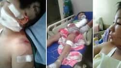 LOOK! Man assaults 12-year old boy because of love problems