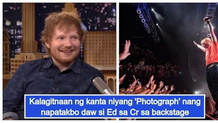Wee-wee break? Ed Sheeran, pinaliwanag ang dahilan ng 2 beses na pag-cr habang nagko-concert