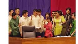 Bet ang mang-agaw? Rep. Gloria Arroyo niluklok bilang bagong Speaker of the House habang winelcome ni Rep. Alvarez ang Pangulong Duterte, SONA nadelay