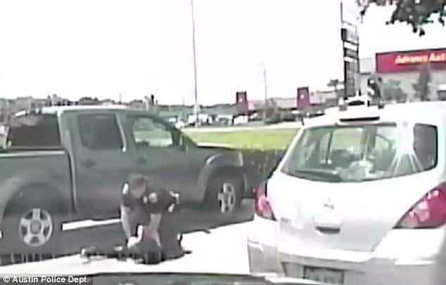 Officer under fire for violently throwing black teacher to ground