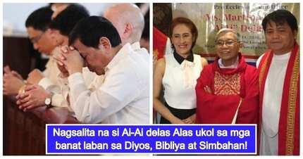 Duterte supporter Ai-Ai delas Alas breaks her silence on tirades against God, Bible & Church