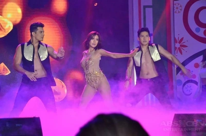 Sobrang breathtaking! Erich Gonzales gives a performance to the rhythm 'Versace on the Floor' by Bruno Mars