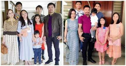 Umagaw ng atensyon sa internet ang panganay na anak nina Jinkee at Manny Pacquiao