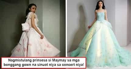 Nagmistula siyang prinsesa sa kinang ng mga gown niya! Maymay Entrata's stunning concert outfits are simply to die for