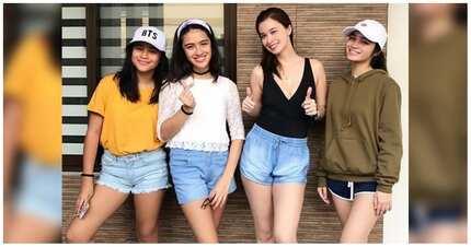 Nakakaaliw na mga larawan ng mga pretty celebrity moms at kanilang mini-mes
