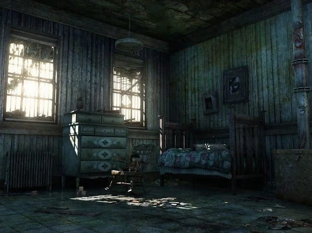 What makes it creepy to stay at Teacher's Camp in Baguio City