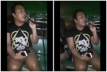"Mapapa-huwoooh ka na lang! This Pinoy passenger singing Regine Velasquez hit song ""Dadalhin"" while riding a jeep will definitely make your day"