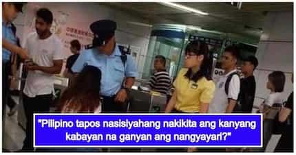 Hindi nagustuhan ng kapwa Pinoy ang pagshare ng isang OFW sa nakakatawang paraan sa kanyang kapwa na nadisgrasya sa isang train sa Hongkong