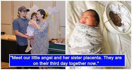 Hindi pinutol ang umbilical chord! Jennica Garcia-Uytinco, nanganak via 'full lotus birth'