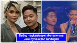 Naging mag-dyowa? Jake Zyrus and KZ Tandingan rumored to have been in a romantic relationship in the past