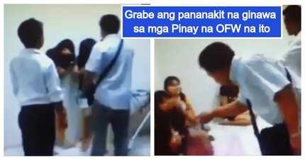 Netizens, galit na galit sa viral video ng mga OFW sa Middle East kung saan nakunan ang aktong pagmamaltrato sa kanila