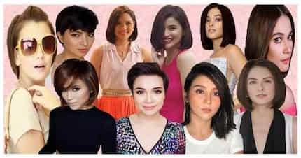 Short hair, don't care! 12 Beautiful Pinays na dalang-dala ang short hair style