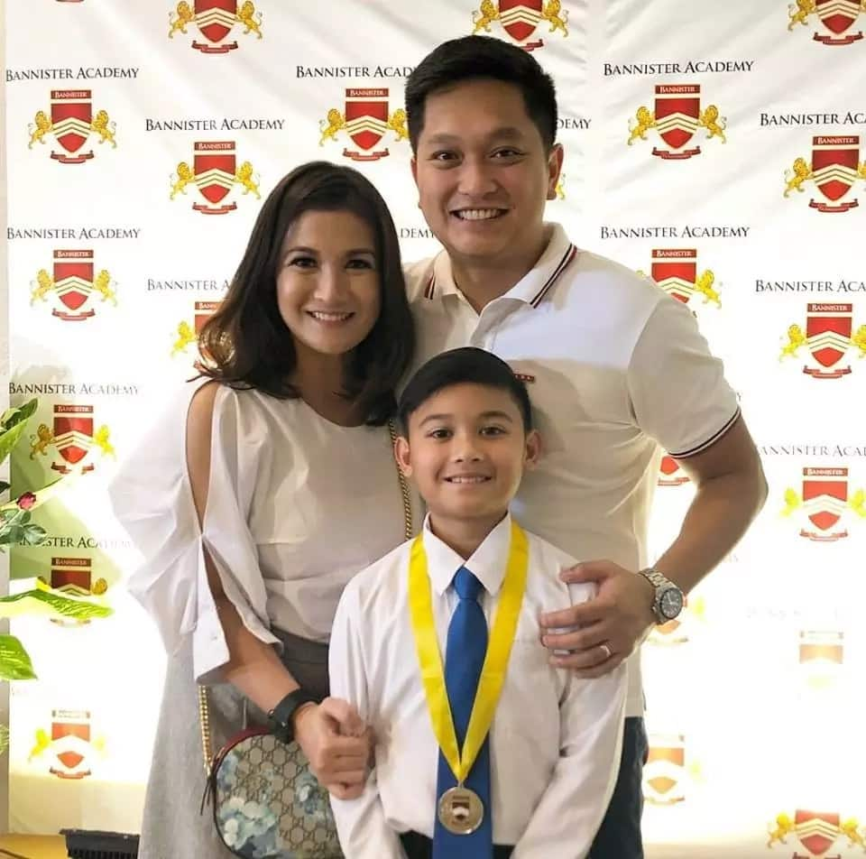 Proud moment talaga! Camille Prats is one proud mom during son Nathan's recognition day
