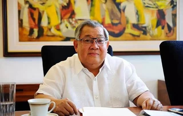 Paborito daw? GMA's Big boss Atty. Felipe L. Gozon never miss an episode of 'Dear Uge' because of his supposed favorite Kapuso talent, Eugene Domingo