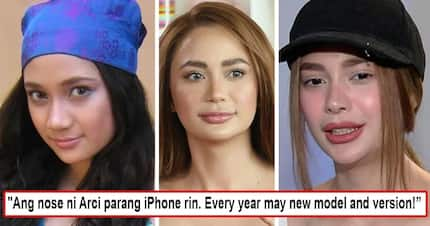 Di kasi siya kuntento! Arci Muñoz's nose becomes a joke on socmed after netizen compares it with iPhone 'Every year may new model and version'