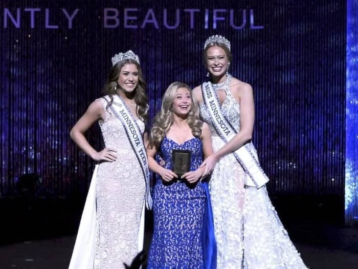 Woman with Down Syndrome wins an award in Miss USA state pageant and she makes history