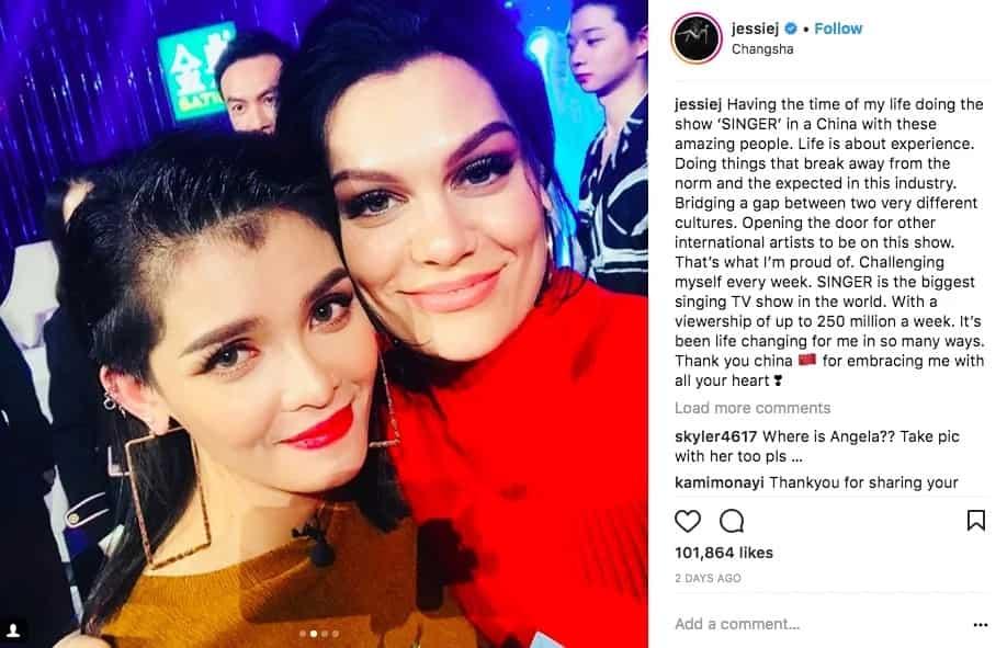 International artist na nga ba? Jessie J offers collaboration with KZ Tandingan