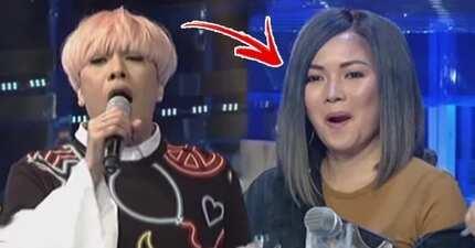 Vice Ganda humiliates Yeng Constantino on Tawag Kids by 'teaching' her how to correctly sing hit single 'Hawak Kamay'