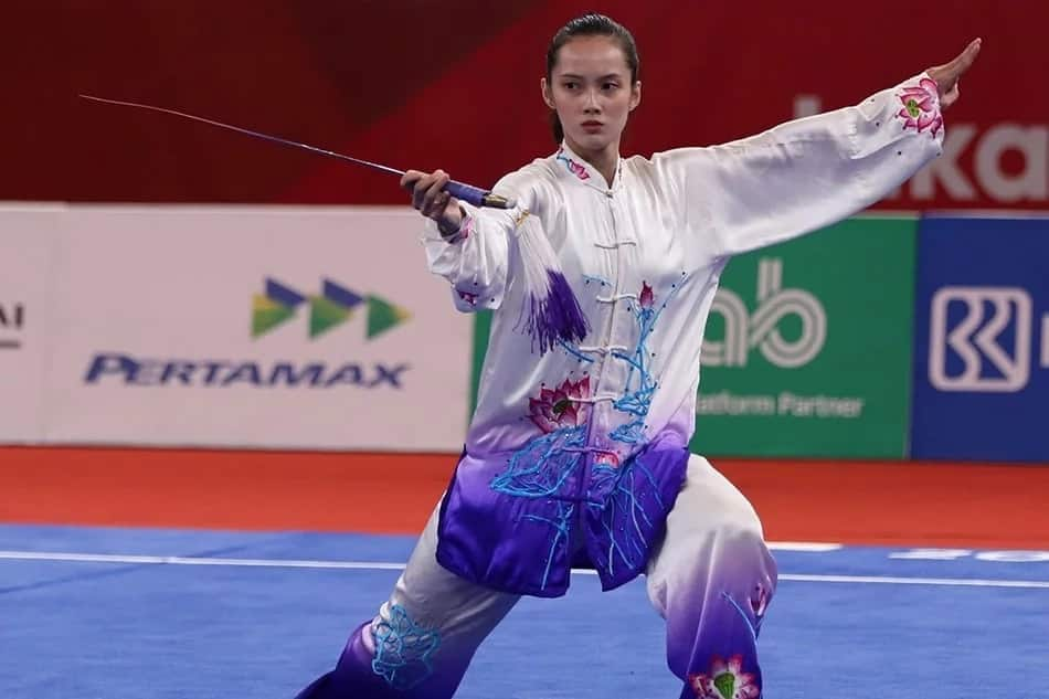 Galing ng Pinoy! Agatha Wong is bronze medalist for wushu during first Asian Games entry